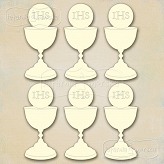 First Communion  Collection - Small Chalice 6 pcs.