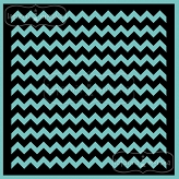 stencil/mask/embossing plate - chevron 20x20