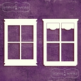 romantic windows 4 pieces