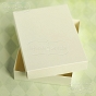 rectangle box Latarnia Morska ivory for a greeting card C6