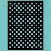 stencil/mask/embossing plate - checkerboard