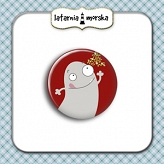 self-adhesive flair button - Monster Collection #1