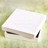 white square box Latarnia Morska for a greeting card
