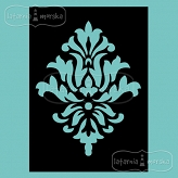 stencil/mask/embossing plate - Damask