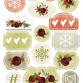 zestaw die-cuts My Christmas Wish  32x16 cm
