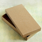 rectangle box Latarnia Morska kraft for a greeting card DL