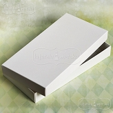rectangle box Latarnia Morska white for a greeting card DL